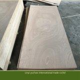 La chapa de Okoume hizo frente a la madera contrachapada comercial de la piel de la puerta de Linyi