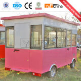 Carro elétrico do alimento para o Vending da rua