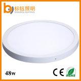 luz de painel redonda montada de superfície do diodo emissor de luz da iluminação de teto 48W SMD de 600mm 2835