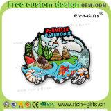 Decorazione domestica personalizzato ricordo Nuova Caledonia (RC- NC) dei magneti del frigorifero del PVC dei regali