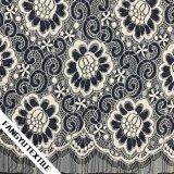 Tessuto classico del merletto della guarnizione del fiore per la signora Dress