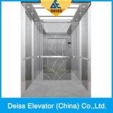 Elevatore residenziale Dkv320 della casa della villa del passeggero di stile LMR della fascia d'acciaio