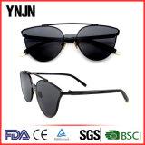 Солнечные очки глаза кота Revo высокого качества Ynjn реальные 2017 женщин