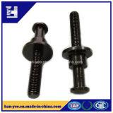Vis galvanisée/boulon de noir chinois de matériel