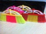 Escoba plástica de la calidad colorida y buena, Kc019