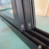 3 Spur-Aluminiumrahmen-Schiebetür, Fenster, Aluminiumfenster, Aluminiumfenster, Glastür K01092