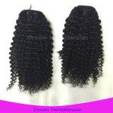꼬부라진 사람의 모발 제조자 도매 Virgin 브라질 머리