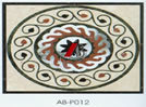 De natuurlijke Tegels en de Patronen van het Mozaïek van de Steen Marmeren