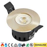 5W fuego LED clasificado Downlight del cuarto de baño IP65 con el Ce RoHS