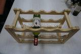 4-18 хранение шкафа вина емкости бутылки Shelves твердая древесина