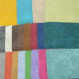 Cuero sintetizado impermeable del sofá de los muebles del PVC de la PU de la alta calidad (F8004)
