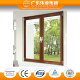 65 Serien-Aluminiumflügelfenster-Fenster