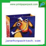 Изготовленный на заказ хозяйственная сумка мешка руки бумажного мешка Kraft офсетной печати