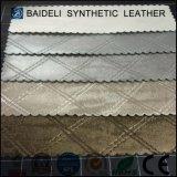 ソファーまたは家具または袋の家具製造販売業のための金属表面PVCレザー