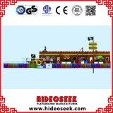 Оборудование спортивной площадки корабля пирата крытое для детей