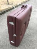 Tabella portatile di massaggio del faggio Brown-Rosso con lo schienale registrabile Mt-009-2h
