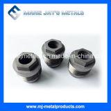 Boquillas modificadas para requisitos particulares alta calidad del carburo de tungsteno para los varios propósitos