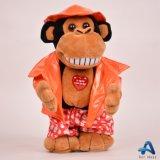 노래 견면 벨벳은 장난감 곰을 전자 연약한 장난감