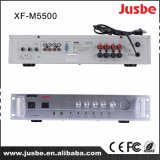 Jusbe Xf-M5500 2チャネル4のスピーカーリンク150With8ohm安い価格の300With4ohm統合併合の電力増幅器の教室のオフィスのサウンド・システム