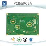 Напечатанная радиотехнической схемой доска PCB доски Fr4