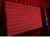 Única visualização óptica Semi-Ao ar livre & ao ar livre do diodo emissor de luz do vermelho P10