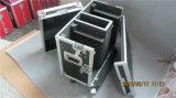 crémaillère de cas de vol de poste de travail de 16u DJ avec les Tableaux latéraux et la pente du mélangeur 10u