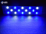 Acuario de la cubierta de aluminio de Arrecifes de Coral de luz LED de 30 cm con soportes