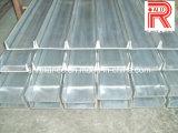 Profils en aluminium/en aluminium d'extrusion pour le profil courant