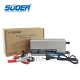 Suoer 500W del inversor modificado red de la potencia de onda de seno con el cargador de batería 10A (SAA-500C)