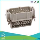 вставки стандартного сверхмощного разъема 16pins 500V/16A Male-Female