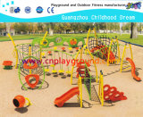 Steel Structure Outdoor Playground Equipment on Stock  (HA-11901)