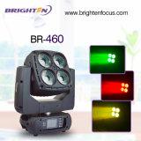 싼 4*60W RGBW 이동하는 헤드 DJ는 빛 LED 세척을 상연한다