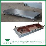 Échelle industrielle de pesée au sol avec précision 5kg