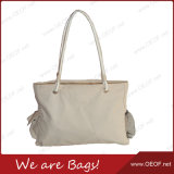 Bolso de la playa Carry/Hand de señora Leisure Casual Cotton Canvas