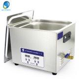 líquido de limpeza ultra-sônico superior do banco de 15L Digitas com aquecimento do controle de tempo de Functionand