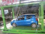 Scissor il tipo elevatore verticale dell'automobile con il tetto