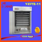 Hhd Cer-Eggs markierter voller automatischer Ei-Inkubator für Huhn 1232 das genehmigte Cer