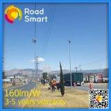 luz de rua psta solar cristalina da área 30W