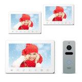 7 pouces de garantie à la maison de porte de téléphone de sonnette visuelle d'intercom