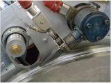 T-Sujetar con cinta adhesiva la cadena de producción del tubo de la irrigación por goteo