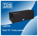 Doppel12inch Three-Way Line Array Speaker Box LA312
