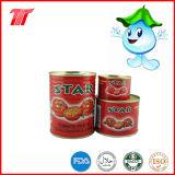 pasta de tomate enlatada saudável do tipo da estrela 400g com baixo preço