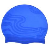 カスタム印刷を用いる波形のシリコーンの水泳帽