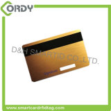 ブランクこんにちはco磁気ストライプのプラスチックT5577 RFIDホテルの部屋の鍵カード
