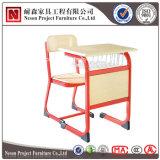 바구니 (NS-KZ32)를 가진 다채로운 프레임 학생 책상 그리고 의자 현대 학교 가구