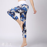 Feste eindeutige Entwurfs-Yoga-Hosen, Gamaschen der Frauen
