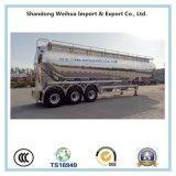 alluminio dell'asse 60cbm 3, doppio della baracca alla rinfusa del cemento di trasporto del silo rimorchio semi