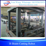 H-Träger-Ausschnitt-Roboter-Zeile