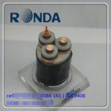 Cable aislado XLPE subterráneo barato de la corriente eléctrica 6/10kv