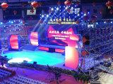 Schermo di visualizzazione esterno del LED dell'affitto di P6.25 SMD3535 6500CD/m2 per l'evento di intrattenimento